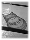 Beer Shadow_BW
