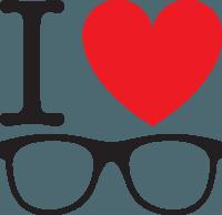 I heart glasses
