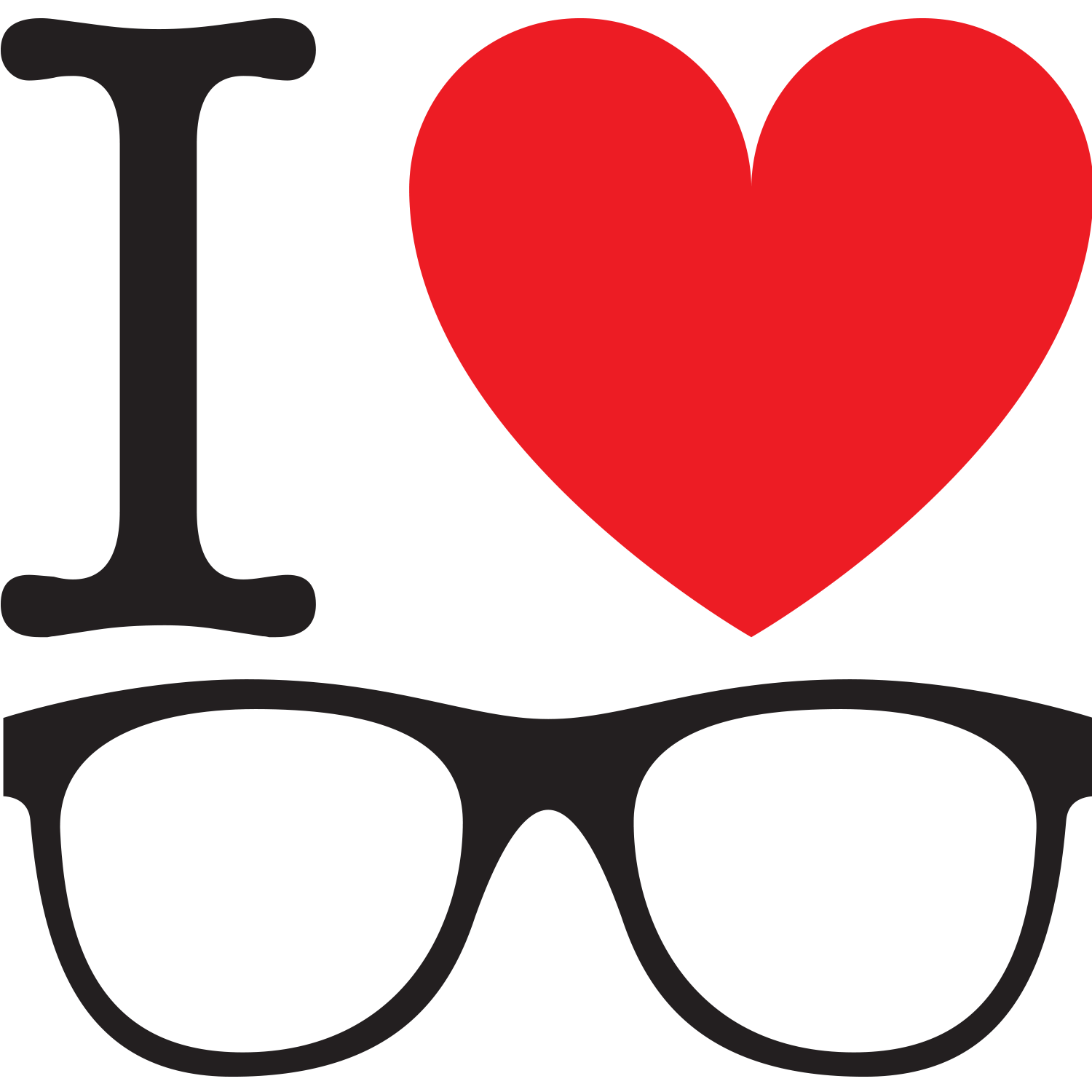 I Heart Glasses