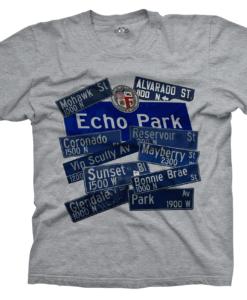 Echo Park Heather Tee