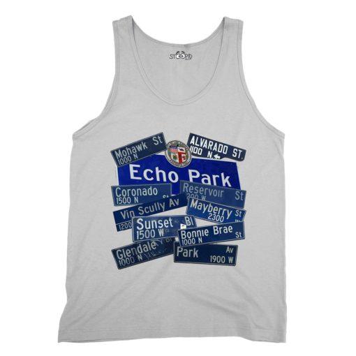 Echo Park White Tank