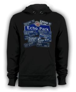 Echo Park pullover hoodie black