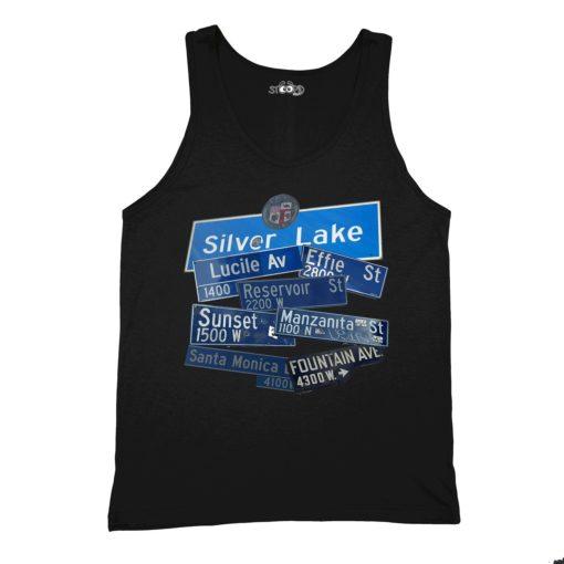 SilverLake Black Tank